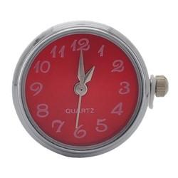 Fako Bijoux® - Click Button Horloge - Rood
