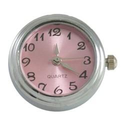 Fako Bijoux® - Click Button Horloge - Roze