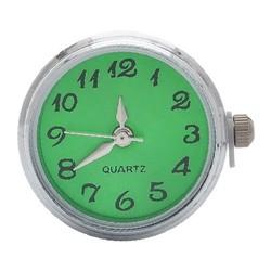 Fako Bijoux® - Click Button Horloge - Groen