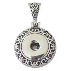 Fako Bijoux® - Kettinghanger - Click Buttons - Rond
