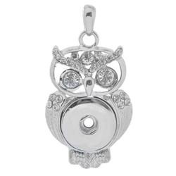 Fako Bijoux® - Kettinghanger - Click Buttons - Uil