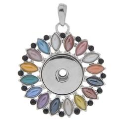 Fako Bijoux® - Kettinghanger - Click Buttons - Zon
