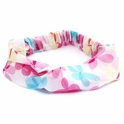 Fako Fashion® - Haarband - Polyester - Summer - Roze
