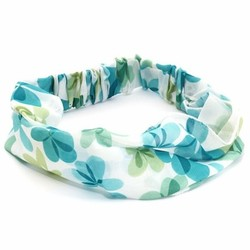 Fako Fashion® - Haarband - Polyester - Summer - Turquoise