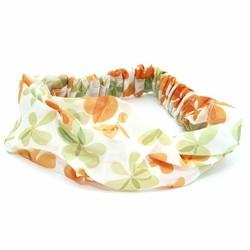 Fako Fashion® - Haarband - Polyester - Summer - Oranje