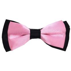 Fako Fashion® - Kinder Vlinderstrik - Vlinderdas - Duo Tone - 10cm - Roze