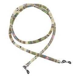Fako Bijoux® - Brillenkoord - Bohemian - 6mm - 70cm - Beige
