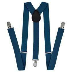 Fako Fashion® - Bretels - Effen - 100cm - Kobalt Blauw