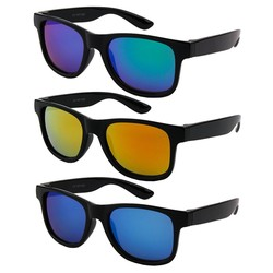 Fako Fashion® - Kinder Wayfarer Zonnebrillen - 3 Stuks