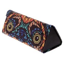 Fako Bijoux® - Brillenkoker - Opvouwbaar - 16x7x6.5cm - Multicolor