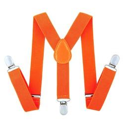 Fako Fashion® - Kinder Bretels - Effen - 65cm - Oranje