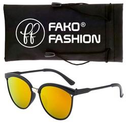 Fako Fashion® - Zonnebril - Clubmaster - Rood