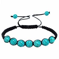 Fako Bijoux® - Buddha Armband - Turquoise - Classic
