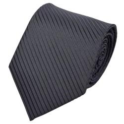 Fako Fashion® - Luxe Stropdas - 145cm - 8cm - Zwart Gestreept
