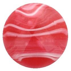 Fako Bijoux® - Click Button - Marmer - Rood