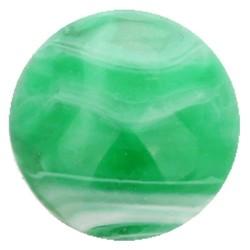 Fako Bijoux® - Click Button - Marmer - Groen