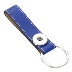 Fako Bijoux® - Sleutelhanger Voor Click Buttons - Single Blauw