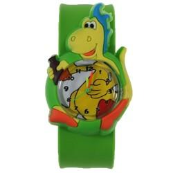 Fako® - Kinderhorloge - Slap On Mini - Dinosaurus - Groen