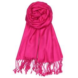 Fako Fashion® - Pashmina Sjaal - Lichte Shawl - 175x75cm - Fuchsia