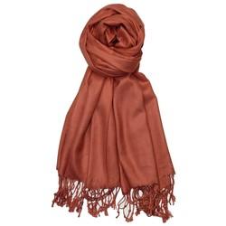 Fako Fashion® - Pashmina Sjaal - Lichte Shawl - 175x75cm - Bruin