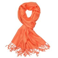Fako Fashion® - Pashmina Sjaal - Lichte Shawl - 175x75cm - Oranje