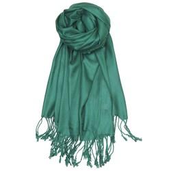 Fako Fashion® - Pashmina Sjaal - Lichte Shawl - 175x75cm - Groen