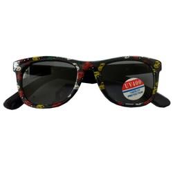 Zonnebril Automotief Zwart/Kleur