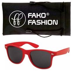 Fako Fashion® - Kinder Zonnebril - Wayfarer - Rood