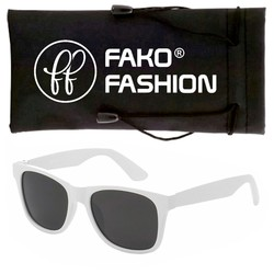 Fako Fashion® - Kinder Zonnebril - Wayfarer - DLX - Wit