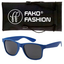 Fako Fashion® - Kinder Zonnebril - Wayfarer - DLX - Blauw