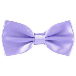 Fako Fashion® - Vlinderstrik - Vlinderdas - Satijn - 12.5cm - Lila Paars