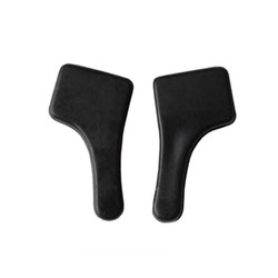 Fako Bijoux® - Anti-slip Oorhaakjes Mini - Brilhaakjes - Siliconen - Zwart