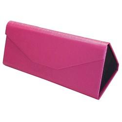 Fako Bijoux® - Brillenkoker - Opvouwbaar - 16x7x6.5cm - Roze