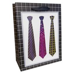 Fako Bijoux® - Cadeautasje - Geschenk Tas - Stropdassen -  17.5x23x8.5cm - 2 Stuks