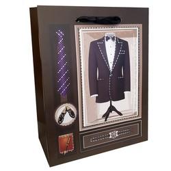 Fako Bijoux® - Cadeautasje - Geschenk Tas - Maatpak - 17.5x23x8.5cm - 2 Stuks