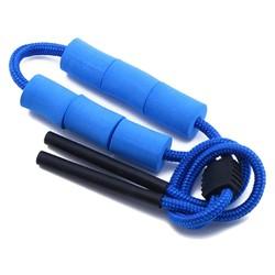 Fako Bijoux® - Drijvend Brillenkoord Foam - 65cm - 15mm - Blauw