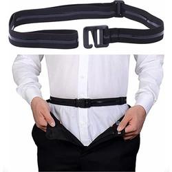 Fako Fashion® - Shirt Stays Belt - Geen kreukels - Shirt Tucker - Overhemd Riem – Onderkleding Riem - Elastische Buik Riem - Anti-Slip Overhemd Riem Bretels
