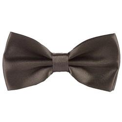 Fako Fashion® - Vlinderstrik - Vlinderdas - Satijn - 12.5cm - Donker Khaki