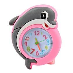 Fako® - Kinderhorloge - Slap On Mini - Dolfijn - Roze
