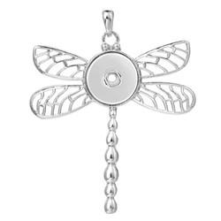 Fako Bijoux® - Kettinghanger Voor Click Buttons - Libelle
