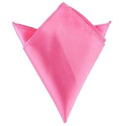 Fako Fashion® - Pochette - Pochet - Satijn - 22x22cm - Roze