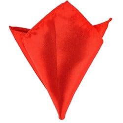 Fako Fashion® - Pochette - Pochet - Satijn - 22x22cm - Rood