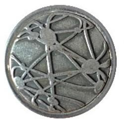 Fako Bijoux® - Click Button - Metaal - Strepen