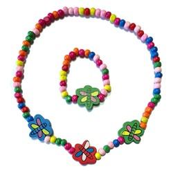 Fako Bijoux® - Kinderketting en Armband - Libelle