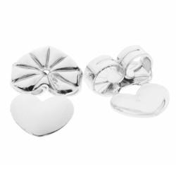 Fako Bijoux® - Magic Oorbel Lifter - Anti-Kantel Stopper - 2 Stuks - Zilverkleurig
