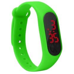 Fako® - Kinderhorloge - LED Digital Light - Groen