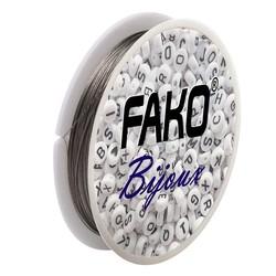 Fako Bijoux® - Staaldraad - Nylon Gecoat - Sieraden Maken - 0.38mm - 40 Meter