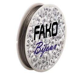 Fako Bijoux® - Staaldraad - Nylon Gecoat - Sieraden Maken - 0.6mm - 25 Meter