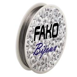 Fako Bijoux® - Staaldraad - Nylon Gecoat - Sieraden Maken - 0.5mm - 30 Meter