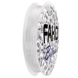 Fako Bijoux® - Elastisch Nylon Draad - Sieraden Maken - 0.7mm - 12 Meter - Transparant